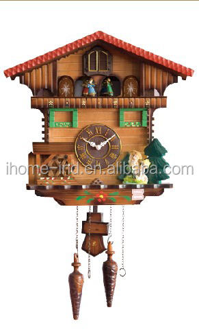 cuckoo clock in high quality with bird can come out