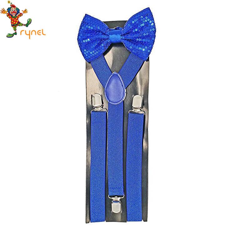 Halloween Wholesalers Zebra Print Suspenders
