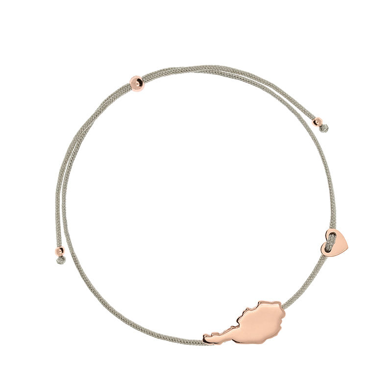 <span class=keywords><strong>Armband</strong></span> Textil Oostenrijk Rose Gold Charm String <span class=keywords><strong>Armband</strong></span>