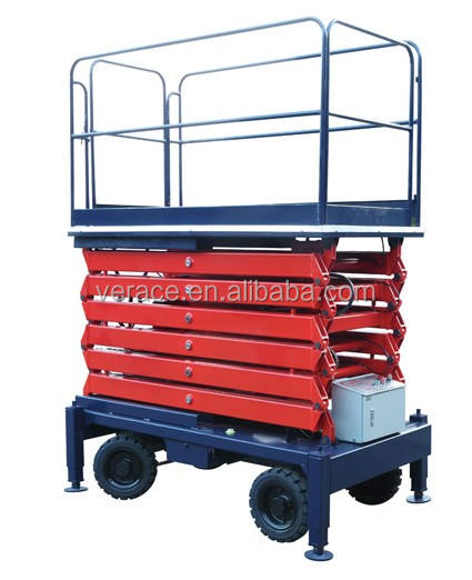 New condition electric/semi-electric/manual Scissors type Work Platform lifting table