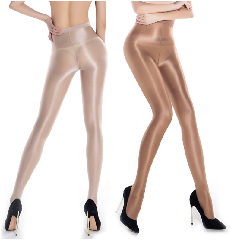 Shaping Ballet Oil Shiny Silk Stockings Dance Tights Pantyhose
