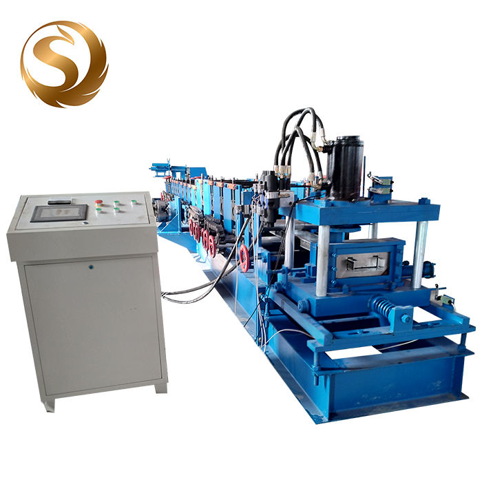 Purlin Roll Forming Machine Steel Frame Purlin Machine By Roll Forming For Building Material