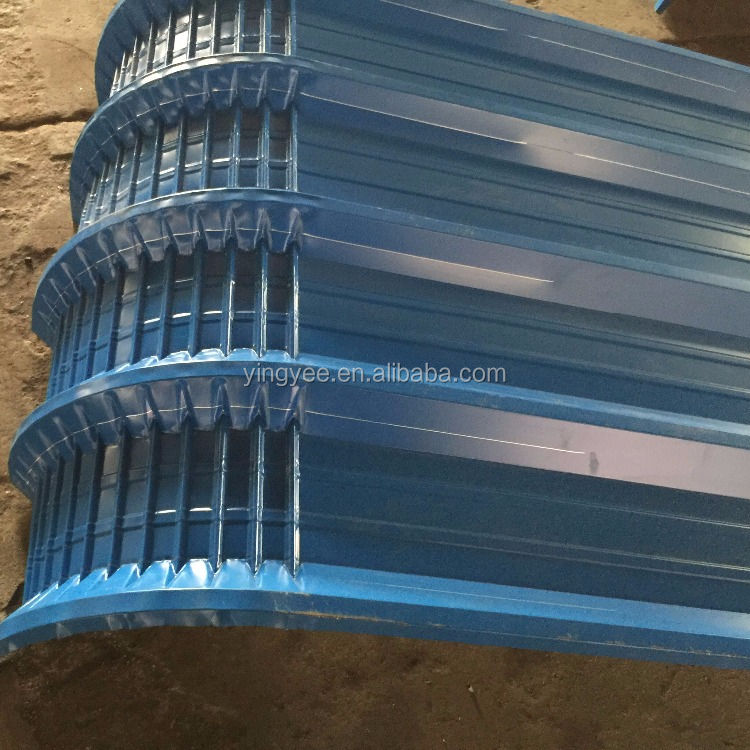 Steel roof sheet curving tile making machine Made in China for Building equipment