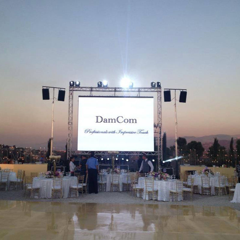 Latest Best Price P4.81 RGB Rental Outdoor LED Screen