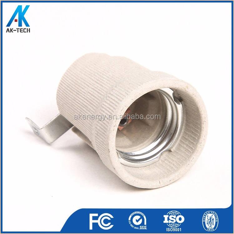 Винт оболочки керамический патрон f519 фарфора e27 для лампы