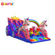 Princess Rainbow Unicorn Inflatable Castle Bouncy Castle Carriage Slide Customized