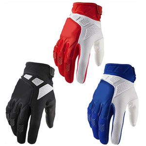 FOGX02 High quality factory custom motorcycle fabric gloves for sale