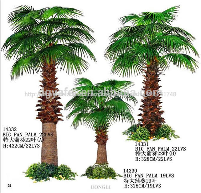 新しいスタイル人工的なヤシの木/best- プラ販売ヤシの木/人気の偽のヤシの木