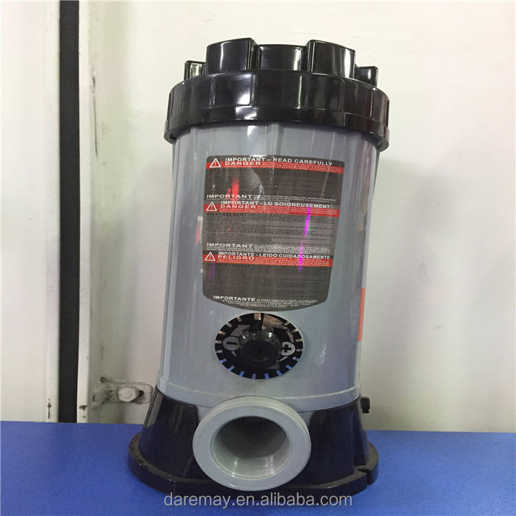 Manufacturer automatic swimming pool feeder chlorinator automatic chlorine dispenser