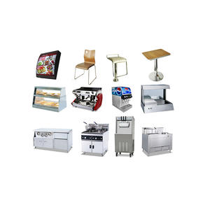 KFC Burger Fast Food Restaurant Kitchen Equipment (Full set supply, CE Approval)