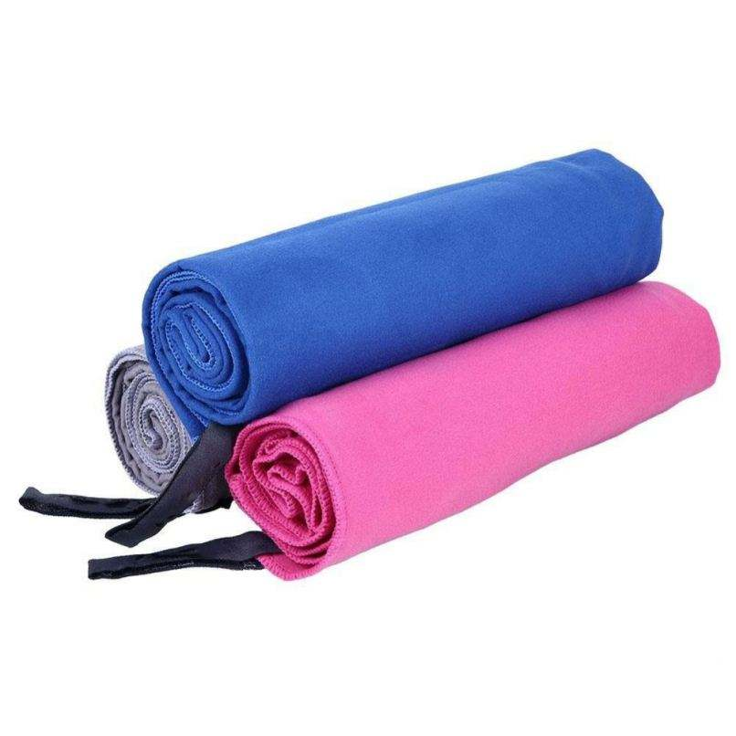 China Microfiber Strong absorbent colorful fastness suede microfiber sport towel
