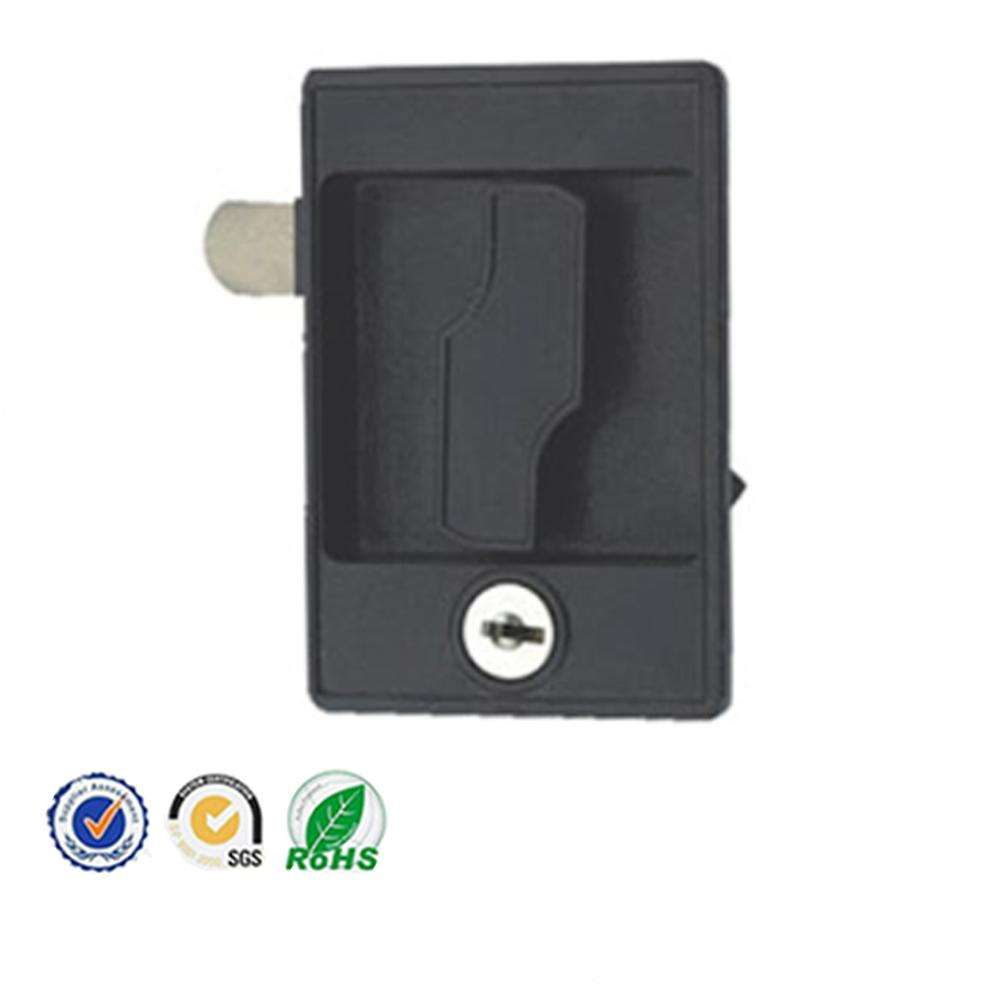 FS2395 Square Fire fighting Cabinet Lock With Handle And Flush Lock For Cupboard Door