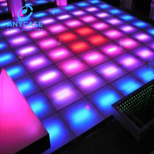 ACS 1*1 M DMX512 Sound Control Strips LED Verlichting RGB Dance Floor voor Club