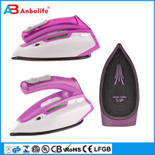 solar energy saving household full function electric iron professional cordless steam iron with self-clean buttom