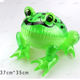 Glow LED Light Inflatable Toys Children Green Frog Balloons Inflatable Cartoon Animals Toy for boy Christmas Birthday Party Gif