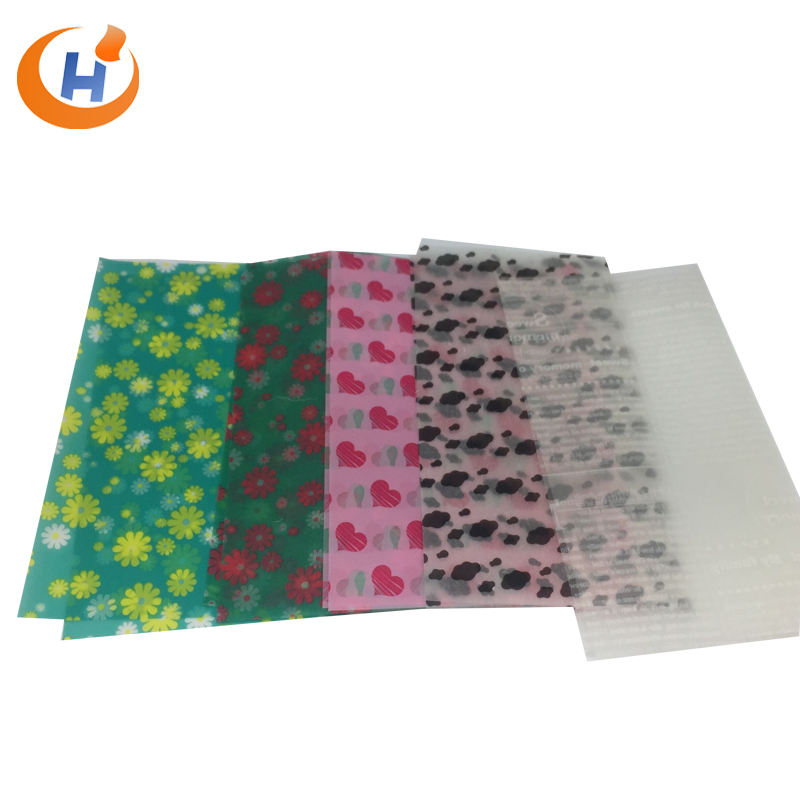 Biodegradable 100% Pure Wood Pulp Fulton High Quality Free Sample Delicate Offset Printing Wax Tissue Paper TP17
