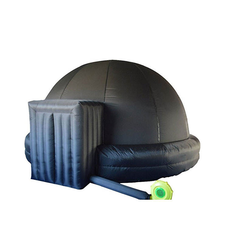 Kids Play Tent Inflatable Domes Black Air Igloo Inflatable Movie Tent for sale