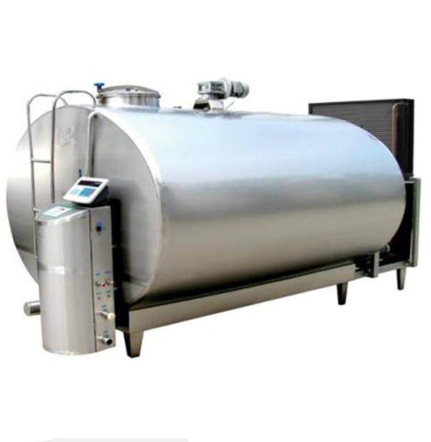 3000L Horizontal type Milk Cooling Tank for Dairy plant