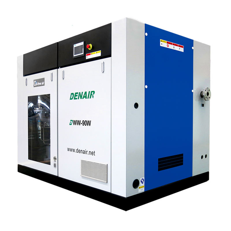 German TUV Electric Oil Free Screw Compressors Supplier