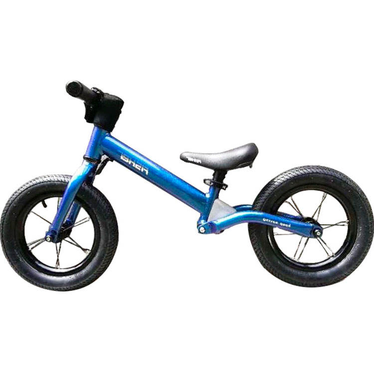 Competition Bicycle Colorful Water Transprinting Electroplating 2-6 Years Old Balance Bike No Pedal Pushbike