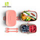 2018 modern style food grade plastic fresh box/bento box/lunch box