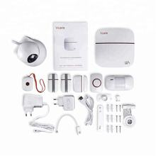 Hot sale! 868 MHz Vcare Smart Wi-Fi GSM Alarm System Wireless Home Security Camera System