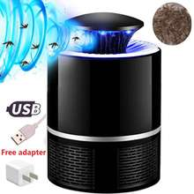 2019 New USB Powered UV LED Electronic Waterproof Mosquito Killer Lamp