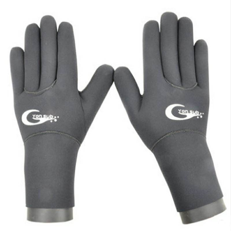 3mm Neoprene super-elastic custom diving gloves