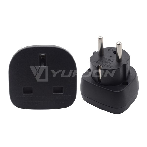 Yuadon nuova release del REGNO UNITO all'ue/Francese plug power travel adapter Adattatore YD-71SA 16A 250V
