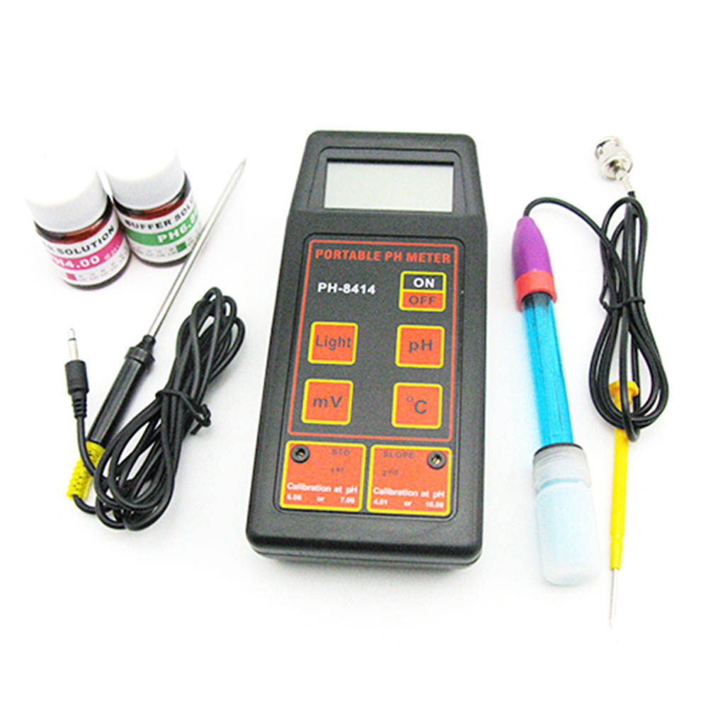Portable & digital pH meter