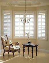 Good quality wood or pvc plantation shutter