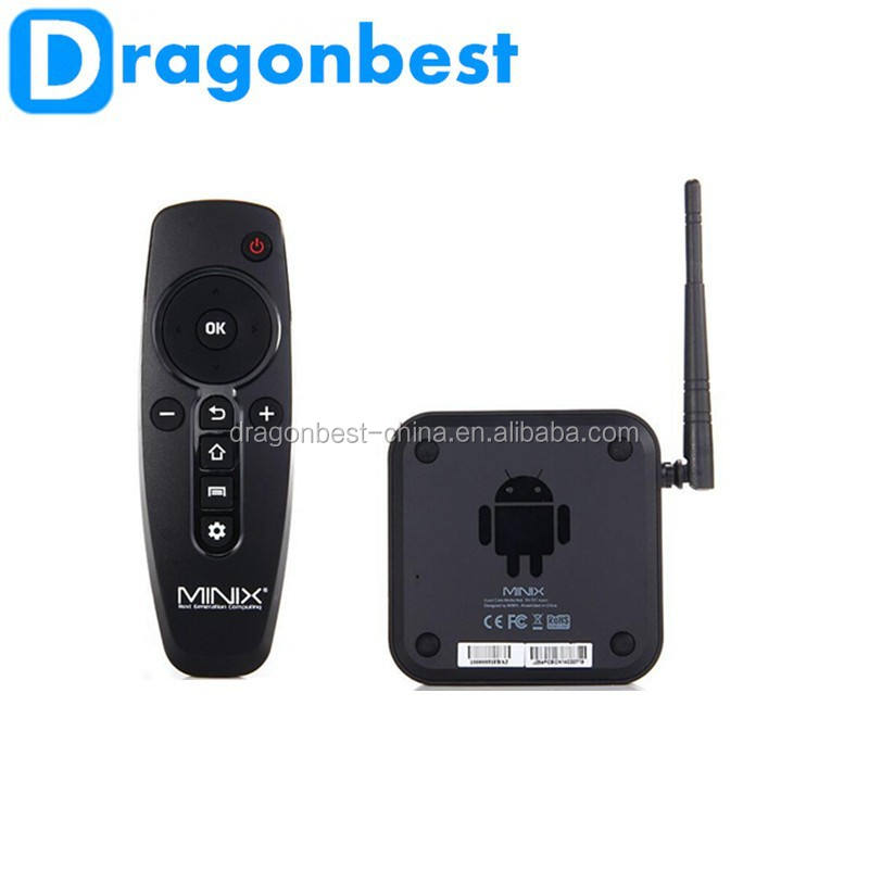 Dragonbest New arrival MINIX NEO Z64A Android TV receiver Box Quad Core CPU 2G/32G Player 1080P Smart TV satellite Receiver