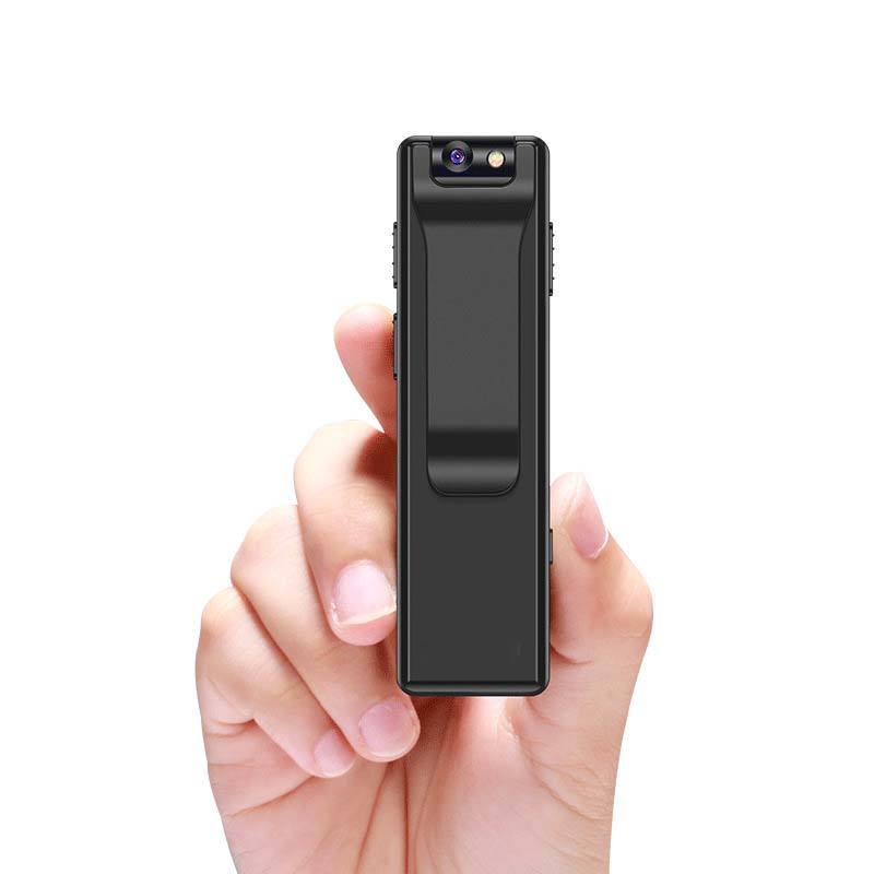 Pocket Hidden 1080P Camera Voice Recorder Long Recording Time Support Tf Card Dictaphone For Police