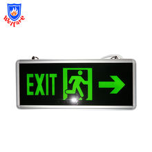 220v led rechargeable fire exit light