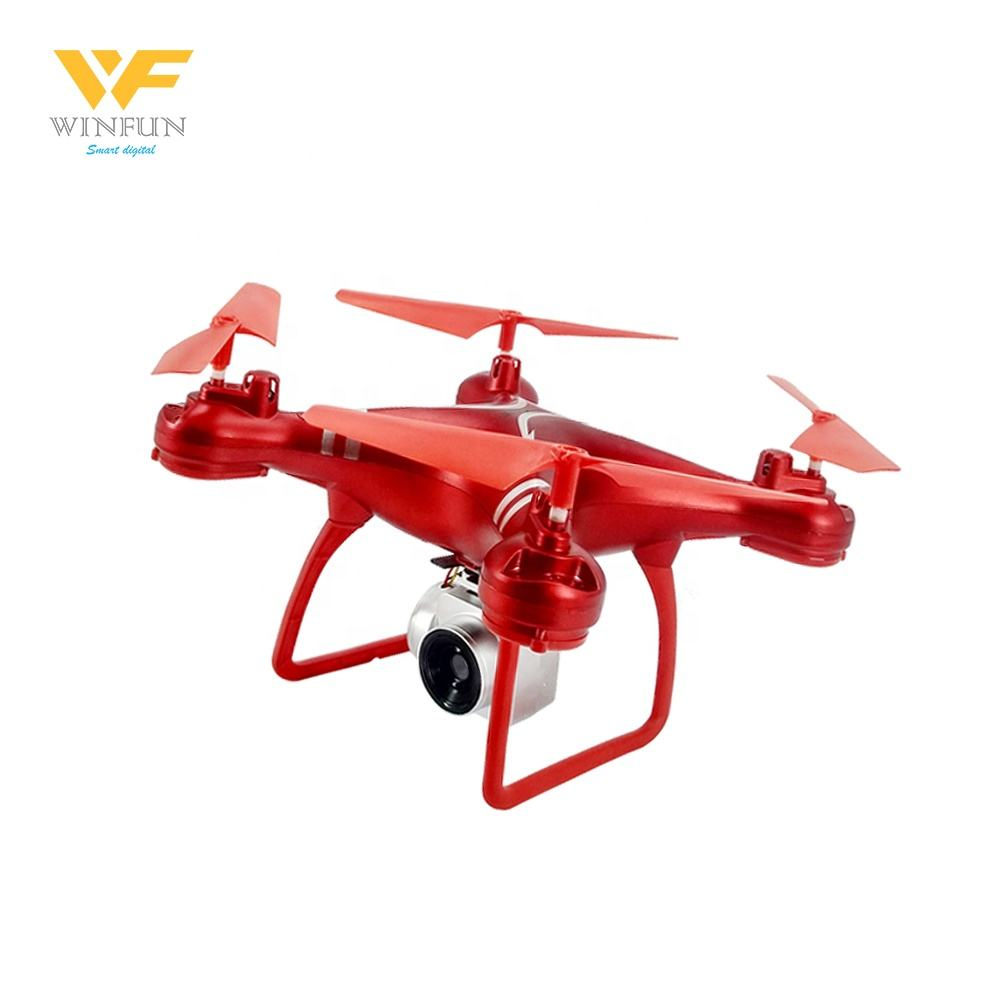 Winfun Grosir APP Control 2.4G Hz 6 Channel RC 4 Axis Gyro Quadcopter Drone dengan Kamera
