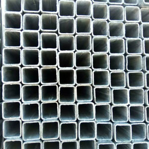 High Quality hot rolled and welded ERW black or galvanized construction Rectangle square Steel Pipe SHS/RHS
