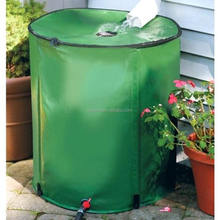 66 Gallon 250L Garden Plastic Water Storage Tank Saving Water Portable Collapsible Rain Barrel