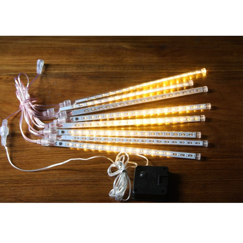 30cm 60cm 80cm 100cm Christmas Solar LED Meteor Shower Light