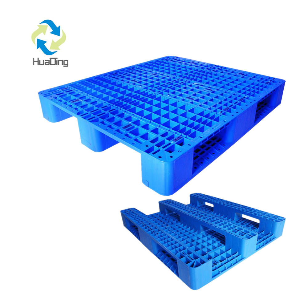 HDPE heavy duty used plastic pallet malaysia export size made in china