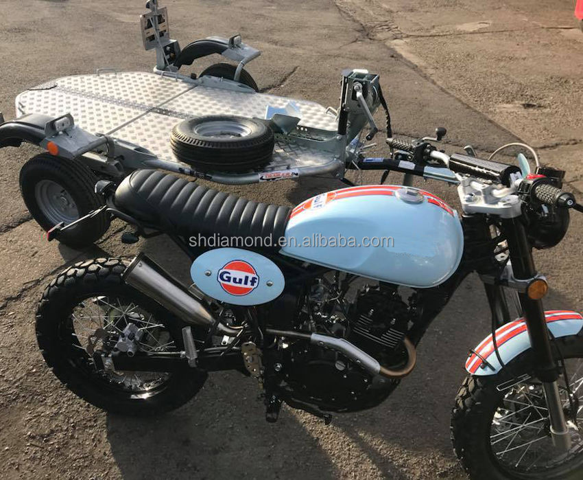 gulf limited Tracker Euro4 125cc road Legal vintage classic Motorbike/customs EEC Motorcycle/retro EU Scrambler pit dirt bike