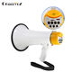 Portable outdoor use rechargeable megaphone with microphone