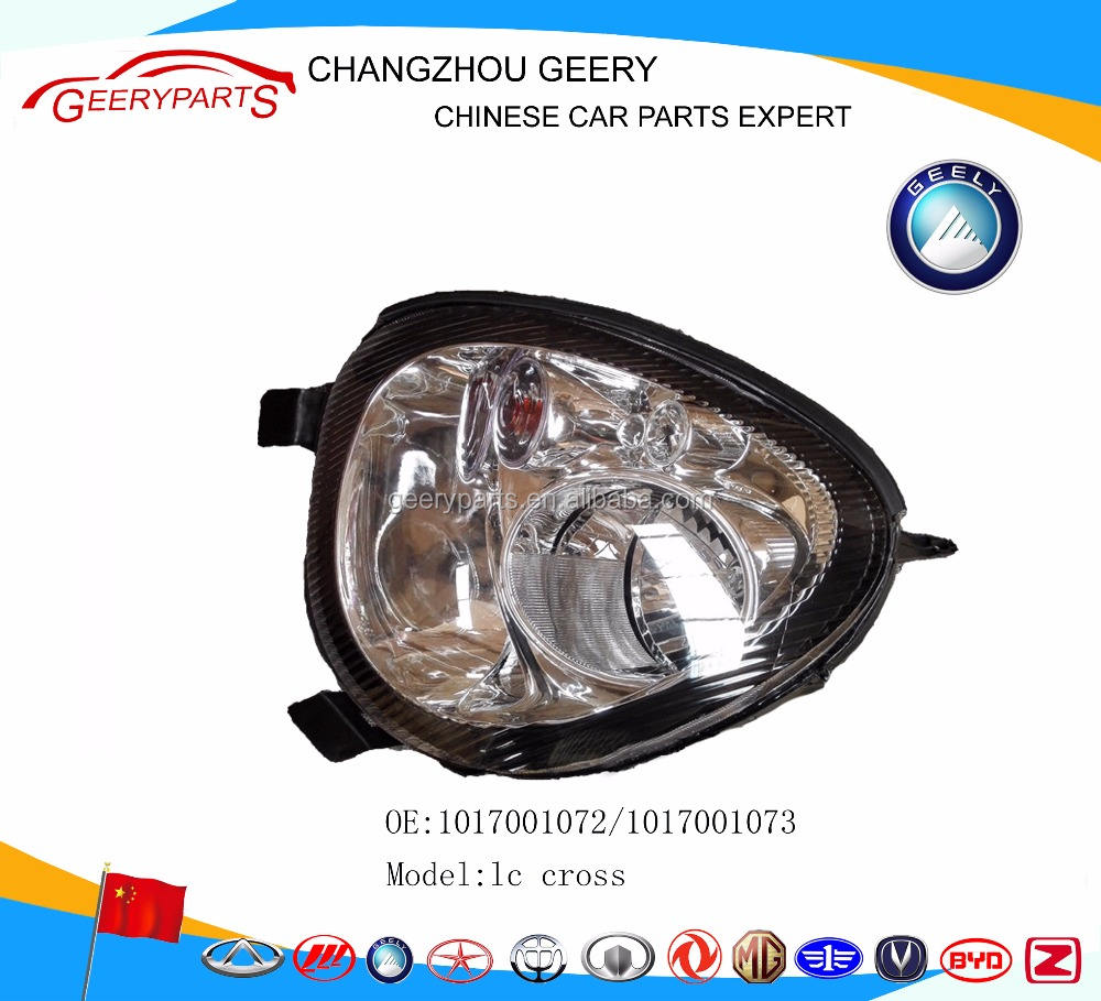 head light auto spare parts geely lc panda