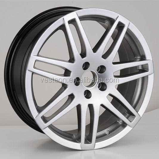 hot selling German 4hole replica alloy wheel for cars