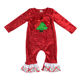 Girls Christmas Outfits Baby Fall Girls Fashion Clothing Wholesale Kids Christmas Velvet Outfits Baby Girls And Boy Clothes Set