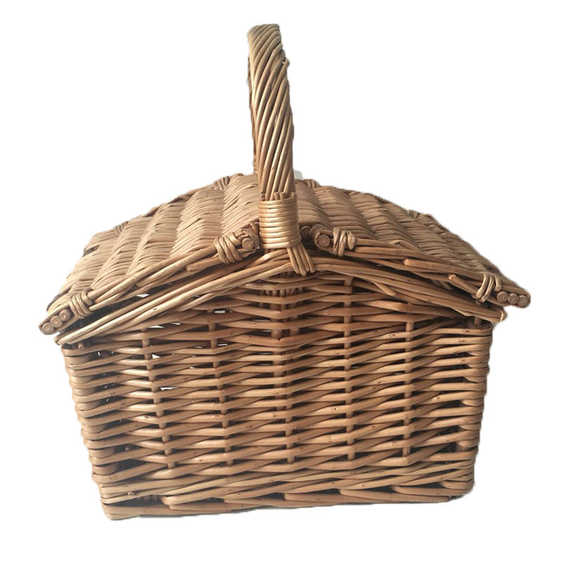 Willow Baskets Wicker Picnic Basket with Handle For Sundries Bread Fruit