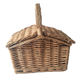 Baskets Picnic Basket Willow Baskets Wicker Picnic Basket With Handle For Sundries Bread Fruit