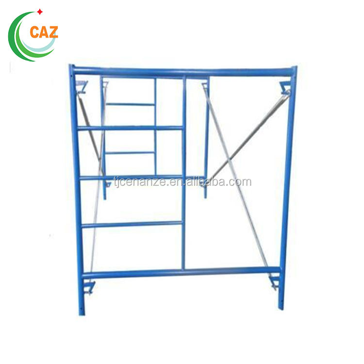 Best Quality Galvanized Step Ladder Cripple Door Manson Frame Scaffolding Used for Building Construction