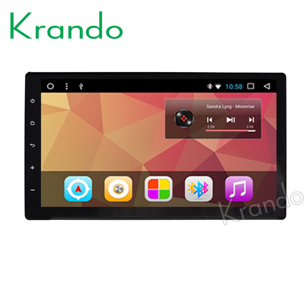 "Krando Android 8.1 9"" android car audio player multimedia system for TOYOTA Hilux 2016+ gps radio player navigation BT KD-TH916"