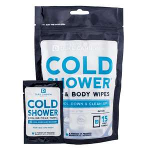 cold shower wipe cooling field towel for cool down and recovery