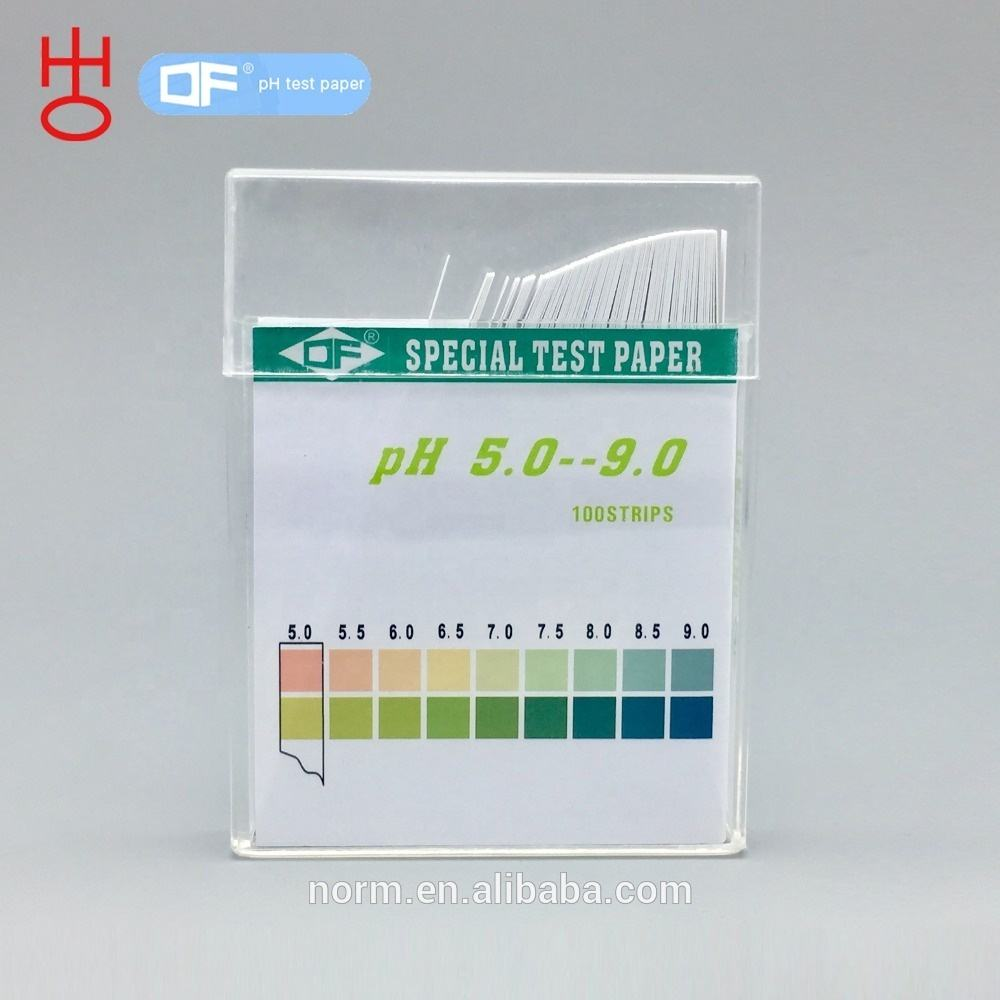 DF, PH Test Strips, 5.5-9.0, Akurasi 0.5